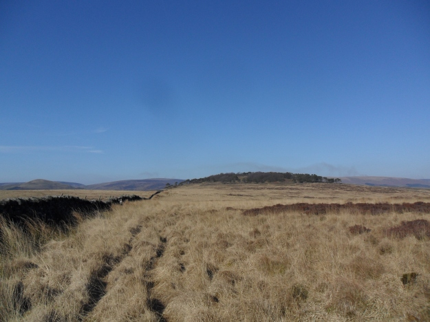 Looking back to Kitcham Hill.