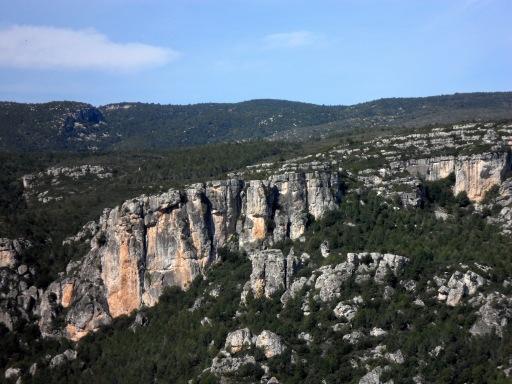 La Riba Crag
