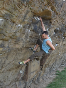 Adam Jeeworth. Cruising 8b