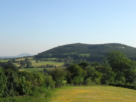 Distant Malverns.