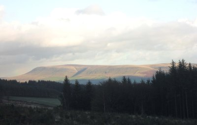 Pendle from Longridge Fell