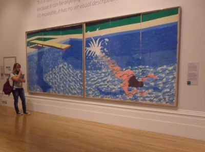 Early Hockney.