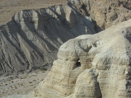 Dead Sea Scroll Cave.