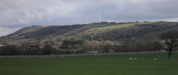 LONGRIDGE FELL FROM THE NW.