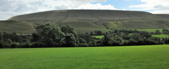 Pendle from Downham.