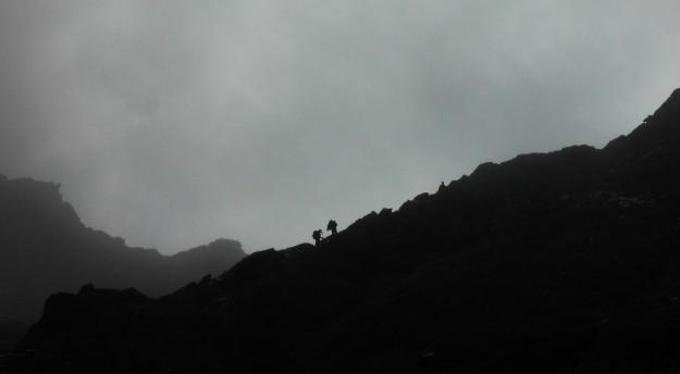 Descending the Simmingjochl.