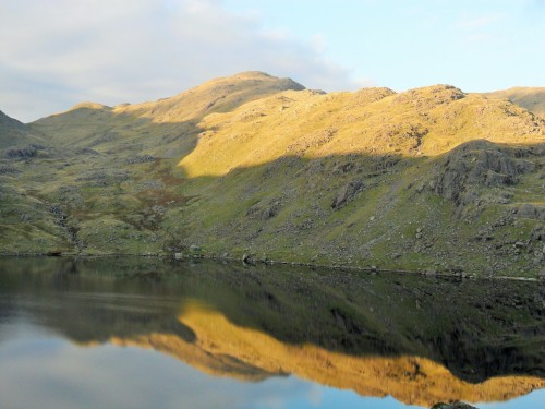 Wetherlam above Levers Water.