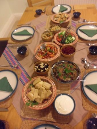 Uzbeck banquet.