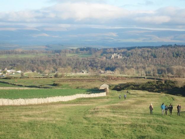 Askham, Lowther Castle and the Cross Fell group.