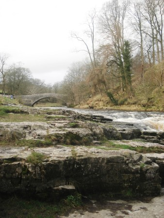Stainforth bridge and falls.