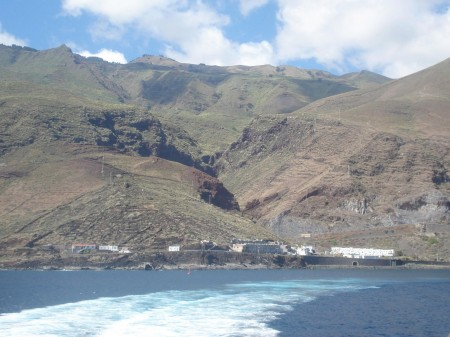 Leaving El Hierro.
