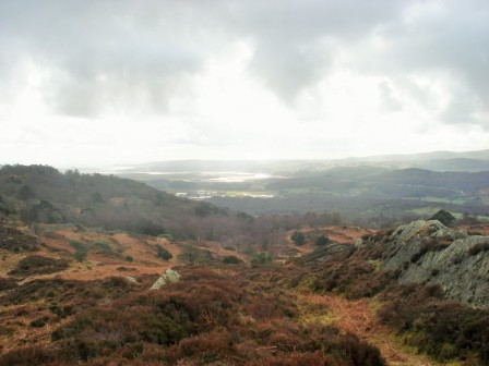Levens Estuary from Rusland Heights.