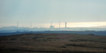 Ever present Sellafield.