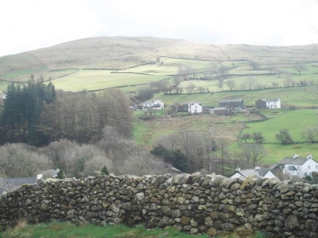 Green Quarter above Kentmere.