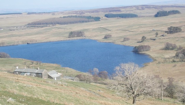 Sleddale Hall and reservoir.