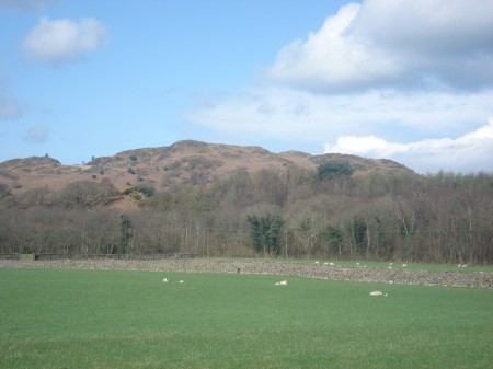Muncaster Fell from the south.
