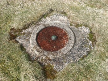Unusual Trig. Point on Great Yarlside.