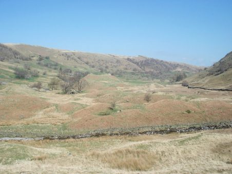 Drumlins at the head of Swindale.