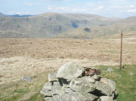Longsleddale and the distant Kentmere skyline