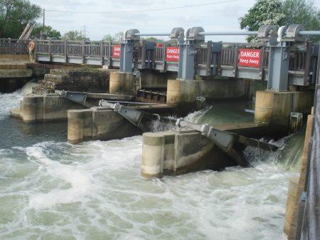 A modern Weir.