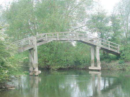 Another wooden bridge.