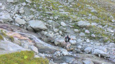 Glacial streams.
