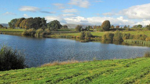 Longridge reservoir.