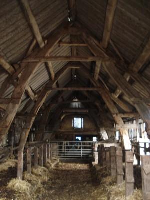Cruck barn.